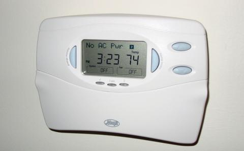 A generic home thermostat